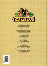 Verso de Papyrus -3c02- Le colosse sans visage