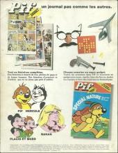 Verso de Pif (Gadget) -HS1977- Pif. Super Comique