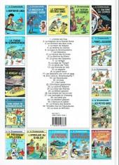 Verso de Le scrameustache -1b2002- L'héritier de l'inca