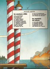 Verso de Lefranc -2b1978- L'ouragan de feu