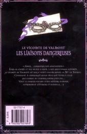Verso de Le vicomte de Valmont - Les liaisons dangeureuses -2- Tome II