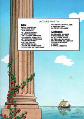 Verso de Alix -1b1982- Alix l'intrépide
