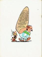 Verso de Astérix -10b1974- Astérix légionnaire