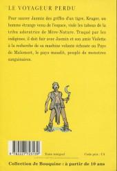Verso de (AUT) Caza -1992- Le voyageur perdu