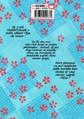 Verso de Choubi-Choubi - Mon chat pour la vie -1- Tome 1
