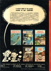 Verso de Spirou et Fantasio -22- L'abbaye truquée