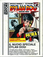 Verso de Dylan Dog (en italien) -34- Il Buio