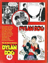 Verso de Dylan Dog (en italien) -42- La Iena