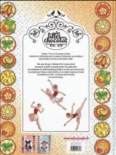 Verso de Les filles au chocolat -3- Cœur mandarine
