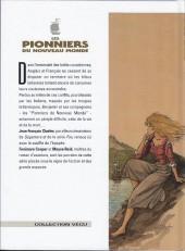 Verso de Les pionniers du Nouveau Monde -2c1997- Le grand dérangement