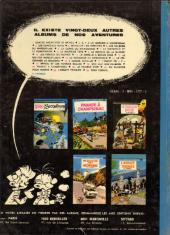 Verso de Spirou et Fantasio -23- Tora Torapa