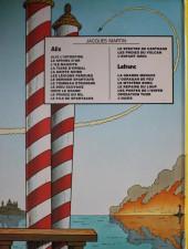 Verso de Lefranc -6a1982- Opération Thor
