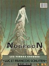 Verso de Les terres creuses -3- NogegoN