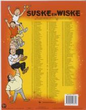 Verso de Suske en Wiske -1502- Het Spaanse spook