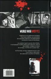 Verso de World War Wolves -2- Autrefois un homme, aujourd'hui un loup