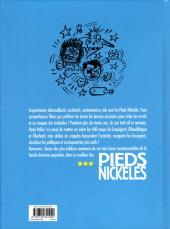Verso de Pieds Nickelés (Le meilleur des) -2a2015- Embrouilles, arnaques et cocards... l'aventure continue !