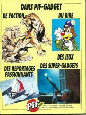 Verso de Pif Poche Spécial - Spécial jeux