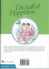 Verso de Half of Happiness (The) - The half of Happiness