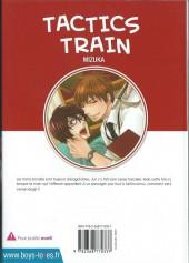 Verso de Tactics Train