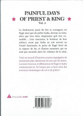 Verso de Priest & King -5- Painful Days of Priest & King