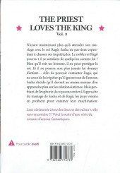Verso de Priest & King -3- The Priest Loves The King