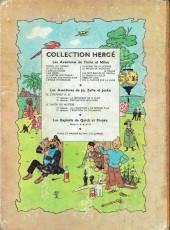Verso de Tintin (Historique) -12B13- Le trésor de rackham le rouge