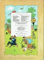 Verso de Tintin (Historique) -13B35bis- Les 7 boules de cristal