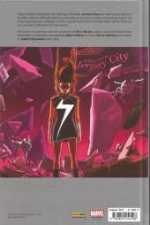 Verso de Ms. Marvel -3- Coup de foudre