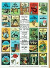Verso de Tintin (Historique) -15C6 - Tintin au pays de l'or noir