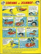 Verso de Pif (Gadget) - Spécial vacances 1976