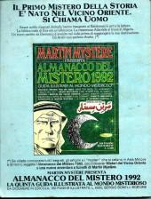 Verso de Martin Mystère (detective dell'impossibile) -117- L'invenzione del secolo