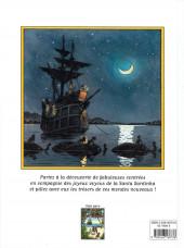 Verso de Les fabuleuses dérives de la Santa Sardinha -2- Tome 2