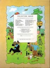 Verso de Tintin (Historique) -2B25- Tintin au congo