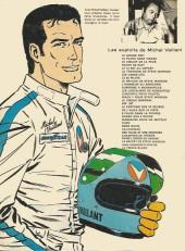 Verso de Michel Vaillant -9d1978- Le retour de Steve Warson