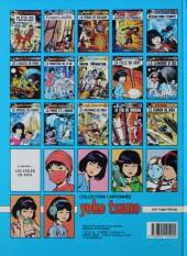 Verso de Yoko Tsuno -8a1986- Les titans