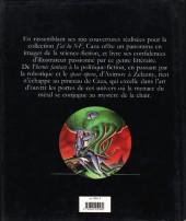 Verso de (AUT) Caza -1994- De métal et de chair - 100 illustrations pour J'ai lu SF
