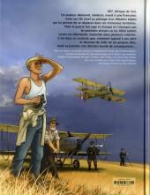 Verso de L'aviateur -1- L'envol