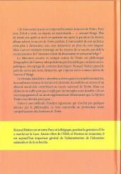 Verso de Tintin - Divers -TT- Le mystère tintin : les raisons d'un succès universel