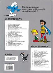Verso de Les schtroumpfs -3c10- La Schtroumpfette