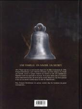 Verso de Les maîtres Saintiers -2- Les sanglots de plomb, 1815