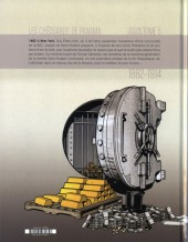 Verso de La banque -5- Troisième génération 1882-1914 : Les Chéquards de Panama