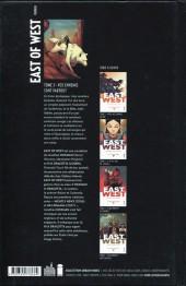 Verso de East of West -5- Vos ennemis sont partout