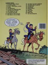 Verso de Les tuniques Bleues -1d84- Un chariot dans l'ouest