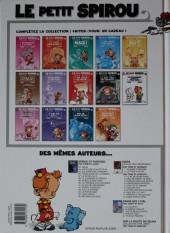Verso de Le petit Spirou -10c2009- Tu comprendras quand tu s'ras grand !