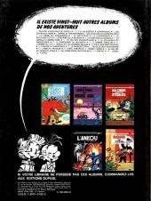 Verso de Spirou et Fantasio -29- Des haricots partout
