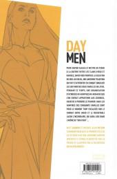 Verso de Day Men -2- Tempus vestigium