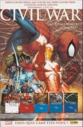 Verso de Astonishing X-Men (kiosque) -23- Prise de tête