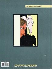Verso de L'incal - Une aventure de John Difool -6a1991- La cinquième essence - 2e partie - la planète difool