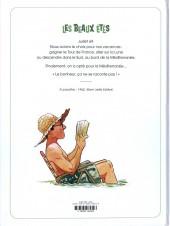 Verso de Les beaux étés -2- La Calanque
