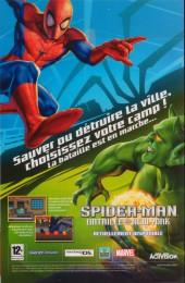 Verso de Spider-Man (Marvel France 2e série - 2000) -83A- Voyage à washington
